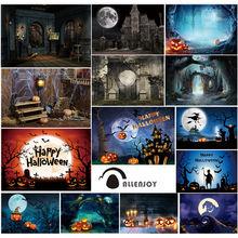 Фон allenjoy для фестивавечерние НКИ Счастливого Хэллоуина замок