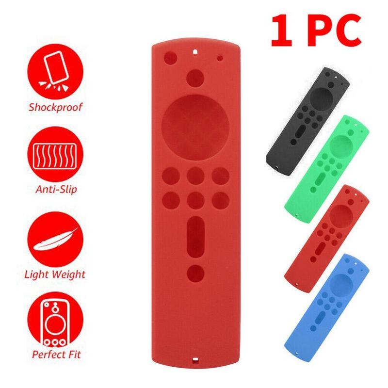 5.6 Inch Remote Control Shell Cases Remote Silicone Case Protective Cover For Amazon Fire TV Stick 4K TV Stick Skin