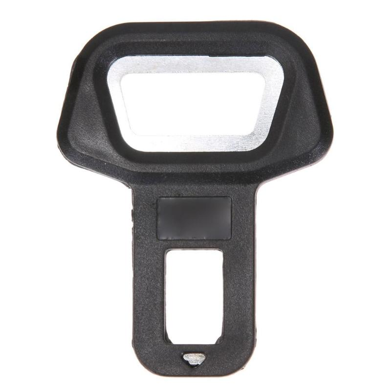 1pc Metal Car Seat Safty Belt Alarm Canceler Stopper Alarm Clip Bottle Opener Safety Belt Buckles Interior Accessories in Auto Fastener Clip from Automobiles Motorcycles