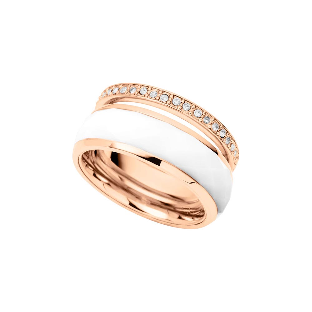 Jewelry Ring Fossil for women JF01123791 Jewellery Womens Rings Jewelry Accessories Bijouterie vintage alloy engraved circle ring for women