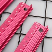 Professional Aluminum Alloy Straight Ruler Protective Scale Measuring Engineers Drawing Tool 20/30/45cm