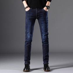 Модный новый дизайн 2020, стрейтчевые джинсовые брюки, Классические мужские джинсы, хит продаж