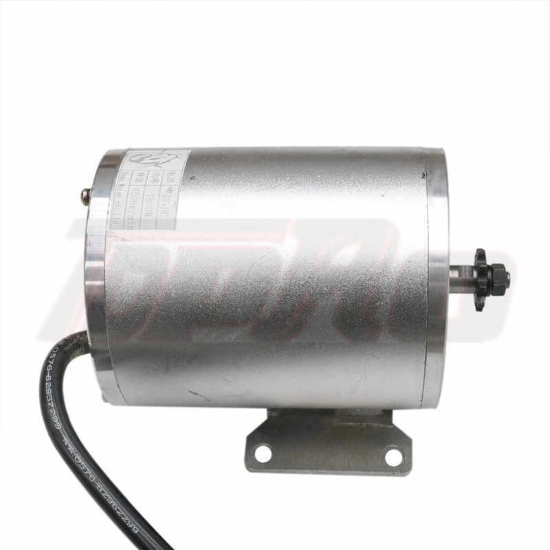 1800W 48V Motor Brushless Pengendali Kecepatan Motor Disegel Memimpin Asam Baterai Charger untuk Skuter ATV Go Kart Minimoto bike Kereta