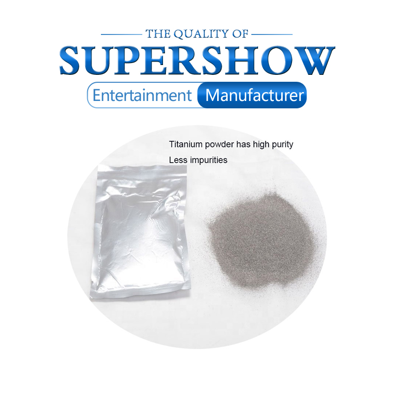 Titanium Metal Powder For Stage Cold Sparkle Fountain Fireworks Machine Free Shipping Ti Powder 200g/Bag 10Bags