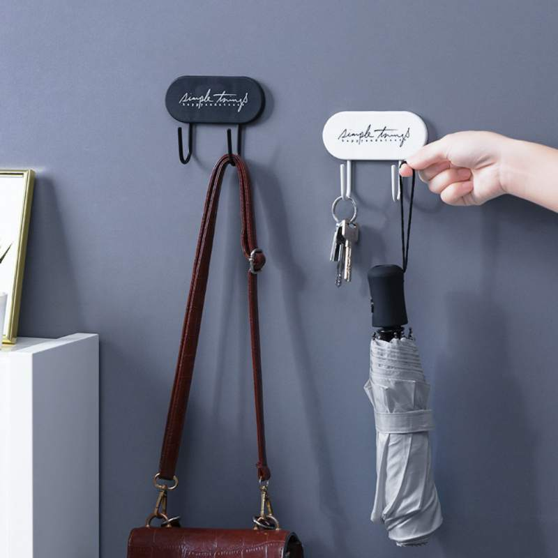 Key Holder Clothes Storage Hook Wall Hanging Hanger Space Saving Home Decor Hanger Accessories Hooks Coat Hooks Rack