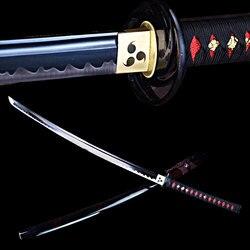 Handgemachte japanische katana schwert echt stahl ninjato schwerter sharp rand