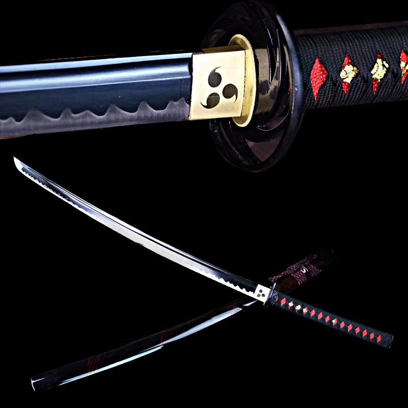 Handmade japanese katana sword real steel ninjato swords sharp edge