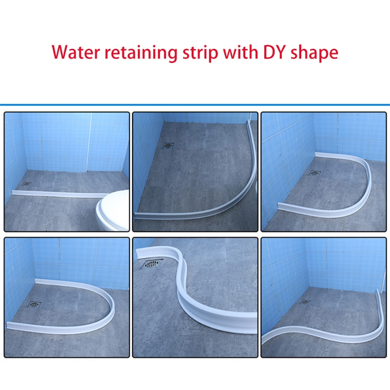 1.5m High Temperature Resistant, Corrosion Resistant Dry And Wet Separation Silicone Water Barrier-4