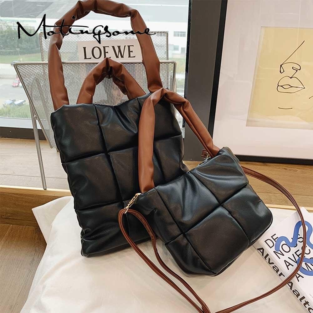 Bolso de Espacio de moda suave y cálido para mujer, bolsa de hombro de diseñador de lujo, estilo Retro, cubo cruzado de algodón, novedad de 2021