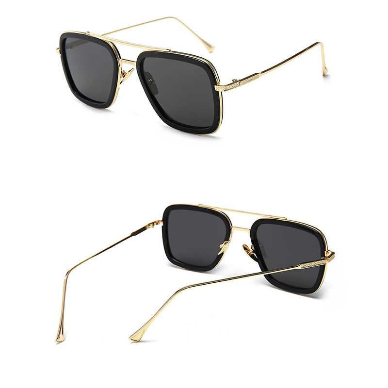نظارات إديث سبايدر مان نظارات بعيدة عن المنزل بيتر باركر الرجل الحديدي أفنجرز توني ستارك نظارات شمسية للرجال نظارات شمسية هالوين