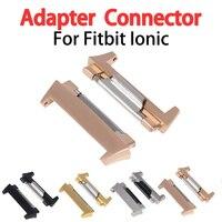 2 stücke Für Fitbit Ionic Band Adapter Armband Handgelenk Band Uhr Strap Stecker + Instrument Smart Uhr Zubehör Ersatz