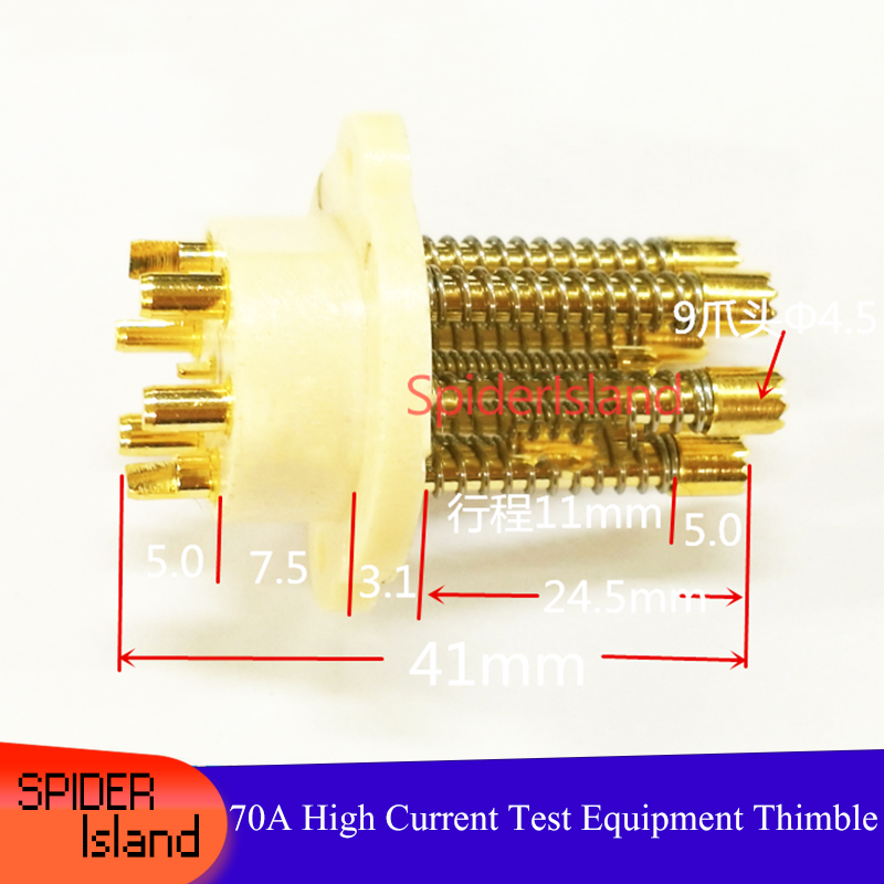 50pcs 42120 High Current Needle 70A Aging Test Equipment Needle 70A Battery Thimble Battery Needle <font><b>38120</b></font> Battery Probe image