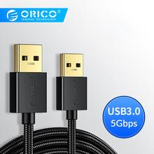 ORICO USB Extension Cable 0.5m 1m 2m 3.0 USB3.0 Data Sync for Radiator Hard Disk HDD Webcom Extender
