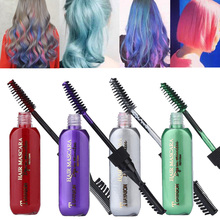 2019 New 13 Colors One-off Hair Color Dye Temporary Non-toxic DIY Hair Color Mascara Washable One-time Hair Dye Crayons 13 colors one time hair color hair dye temporary non toxic diy hair color mascara dye cream blue grey purple