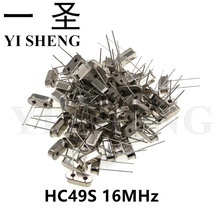 10pcs hc-49s 16MHz Oscillator quartz resonator HC49S 49S 16M 16.000mhz crystal