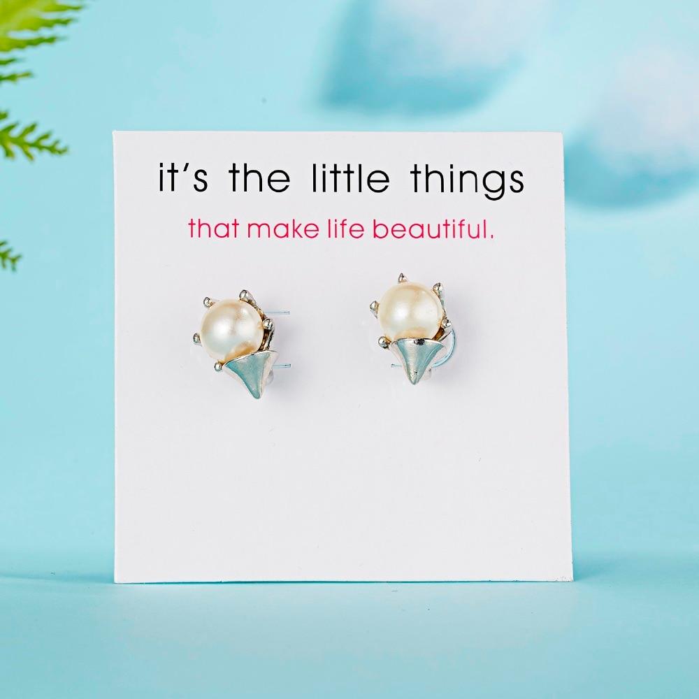 12 Pairs/set Stud Earrings Set With Card Transparent Zircon Balls Love Flowers Earrings Women Imulated Pearl Earrings Jewelry 135