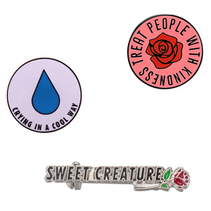 Harry Styles Lapel Pin Kiwi Sweet Creature Brooch Music Fanart Collection