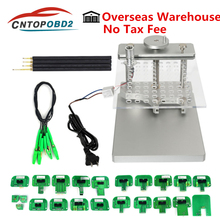 Metal LED BDM FRAME Full Set Stainless Steel with 22pcs BDM Adapters For KESS Ktag FGTECH BDM100 ECU Chip Tuning Tool With Probe