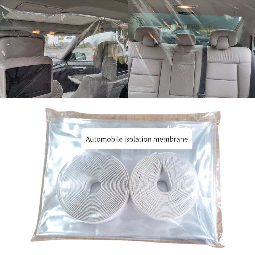 Full Surround Taxi Transparent Car Isolation Film Anti-droplet Protective Cover