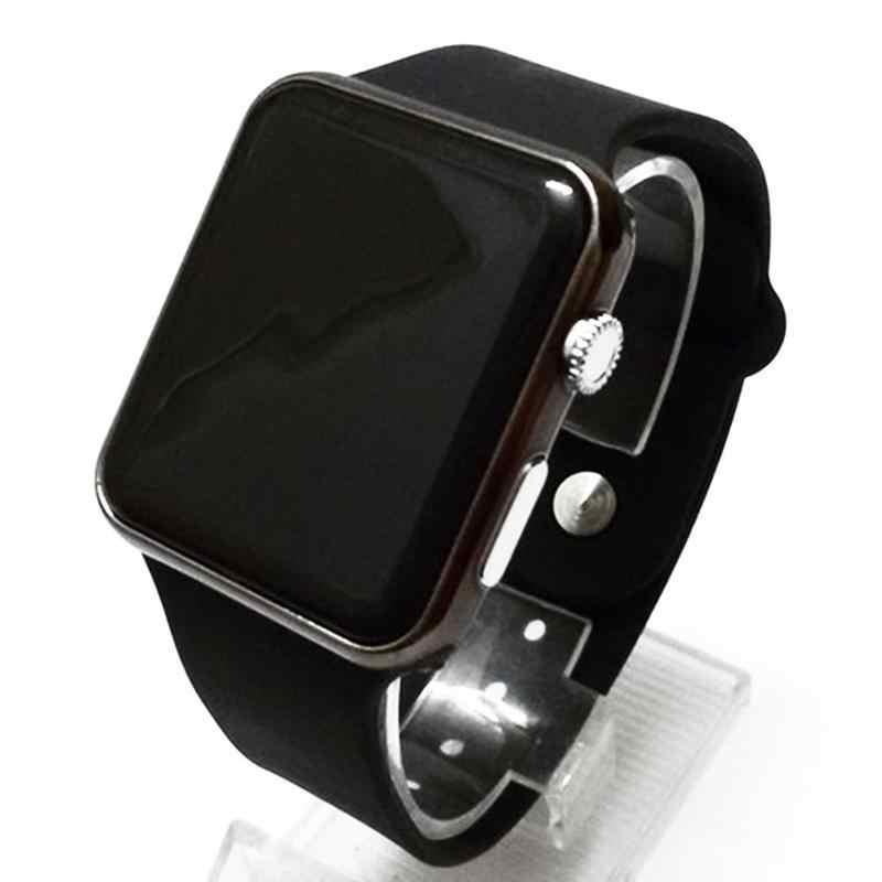 Relojes de pulsera digitales para hombre, relojes deportivos informales LED, reloj de pulsera de silicona militar para hombres, reloj de pulsera Hodinky Ceasuri Relogio Masculino