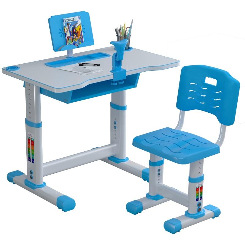 Children's Study Table Elementary School Students Study Desk Chair Set Lift Desk Desk