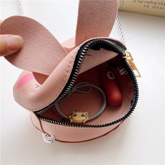 Girls Purse Coin Purse Mini Bag Cute Wallet Children's Small Purse Cartoon Animal Messenger Bag Fashion Kids Mini Shoulder Bag 6