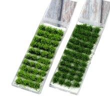 40 шт/лот архитектура флок Смешанная зеленая трава для diy ho