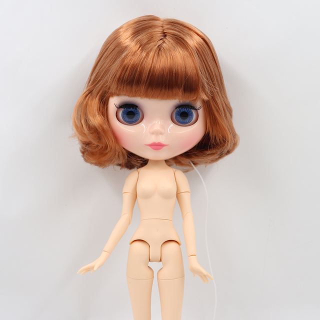 ICY DBS Blyth doll 1/6 bjd toy natural skin shiny face short hair joint body 30cm girls gift special offer 3
