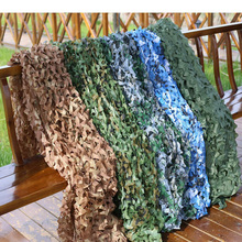Camouflage Military Net Camo Netting Army Nets Shade Mesh Hunting Garden Car Outdoor Camping Sun Shelter Tarp Tent  X201D