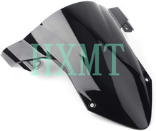 Para bmw s1000rr s 1000rr s 1000 rr 2019 2020 tela da motocicleta windshield windscreen dupla bolha s1000 rr fumaça preto azul