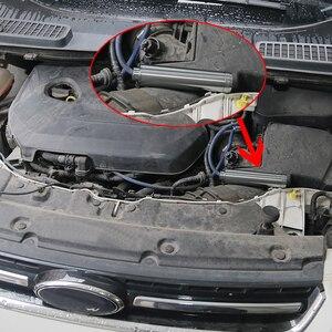 Image 5 - 6 zoll kleine Spirale 1/2 28 oder 5/8 24 Legierung Kraftstoff Filter Single Core für NaPa 4003 WIX 24003 lösungsmittel Motorrad