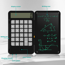 NEWYES 6.5 Inch LCD Writing Tablet Calculator Rechargeable Electronic Drawing Board Graphics Notepad Digital Tablet for Kid Gift