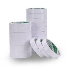 8M לבן סופר חזק דו צדדי דבק קלטת נייר חזק במיוחד דק גבוהה דבק כותנה דו צדדי diy בעבודת יד משרד