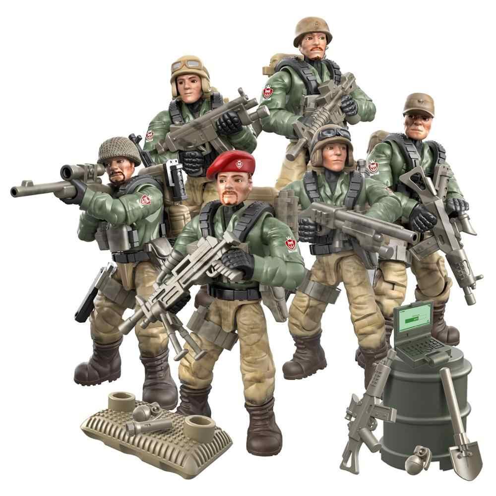 2019 جديد الجيش العسكري الحرب العالمية الثانية WW2 الشرطة SWAT جنود دبابات أرقام اكسسوارات اللبنات الطوب لعب للأطفال