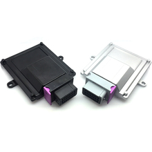 1 set 24 pins ECU-BOX aluminum car case enclosure with matching connector and Terminal 1 set 24 pin way auto plastic ecu pcb enclosure box shell with male and female fci connectors