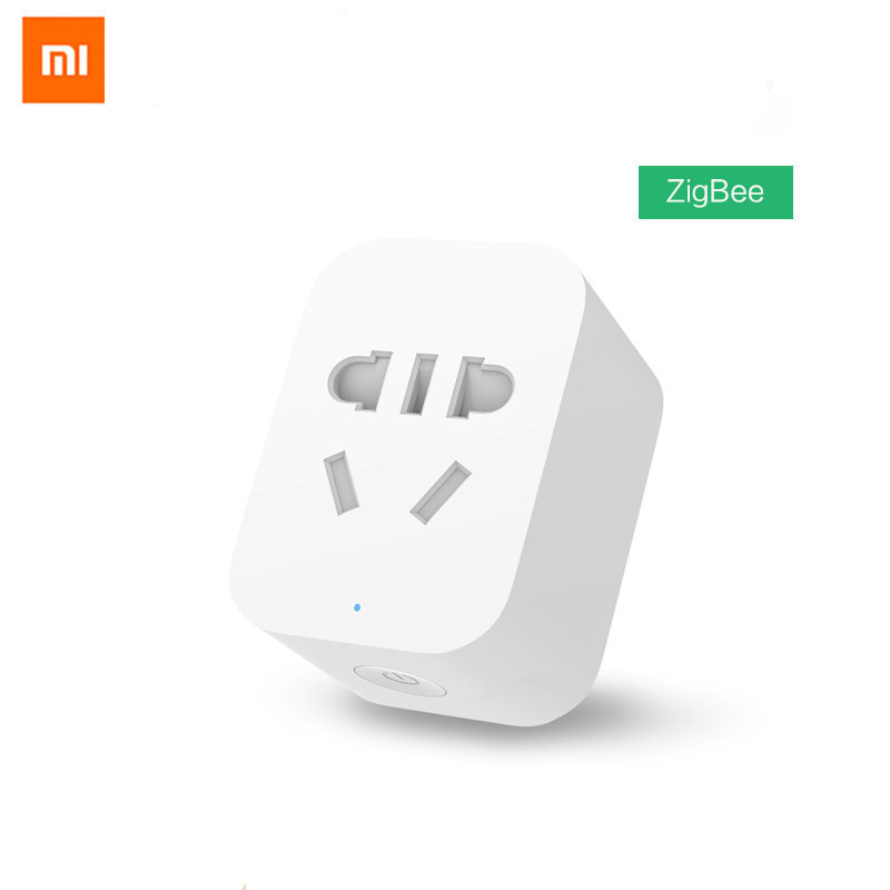 Original Xiaomi Mi Smart WiFi Socket Plug ZigBee Version Remote Control Work With Xiaomi Smart Home  Mijia Mi Home APP