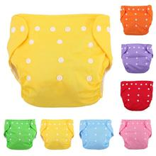 цена Baby Diapers Waterproof Reusable Children Cloth Diaper Washable Adjustable Nappies Training Pants Breathable Diaper Cover Care