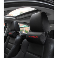 Pu Leather Car Headrest Pillow FOR Subaru Impreza Comfortable Car Neck Pillows High Quality