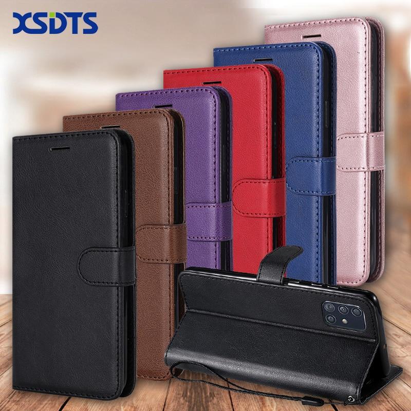Wallet Case For Samsung Galaxy A7 A9 2018 A9S A10 A20 A30 A40 A50 A60 A70 A80 A90 A51 A71 A515F Flip PU Leather Phone Case