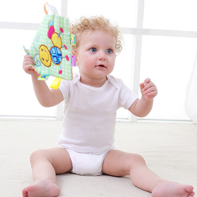 Baby Appease Towel Infant Calm Blanket Comforting Toy Baby Soft Plush Cartoon Animal Toys
