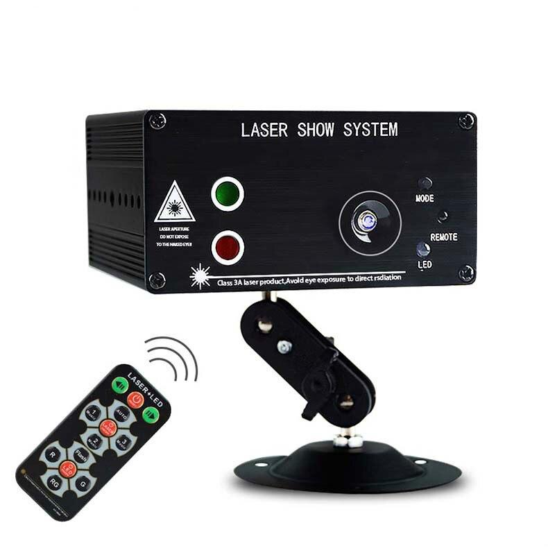 3 линзы RG Лазерный светильник 3 Вт синий светодиодный проектор сценический светильник 48 моделей сценический светильник ing Effect Mini RGB DJ лазерны