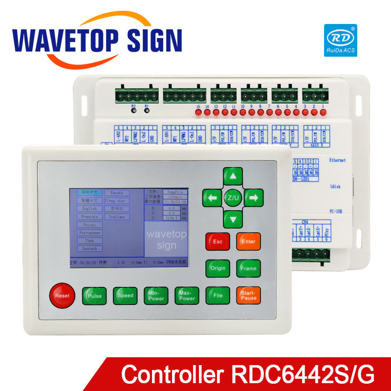 CO2 Laser Controller Ruida RDC6442G for Laser Engraving Cutting Machine RDC6442S
