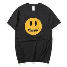 Verão 2020 novo nirvana camiseta de impressão masculina manga curta o colarinho rua harajuku verão curto sorriso rosto camiseta