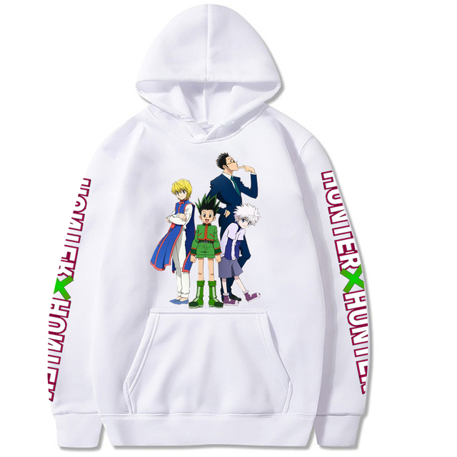 HUNTER X HUNTER THEMED HOODIE (18 VARIAN)