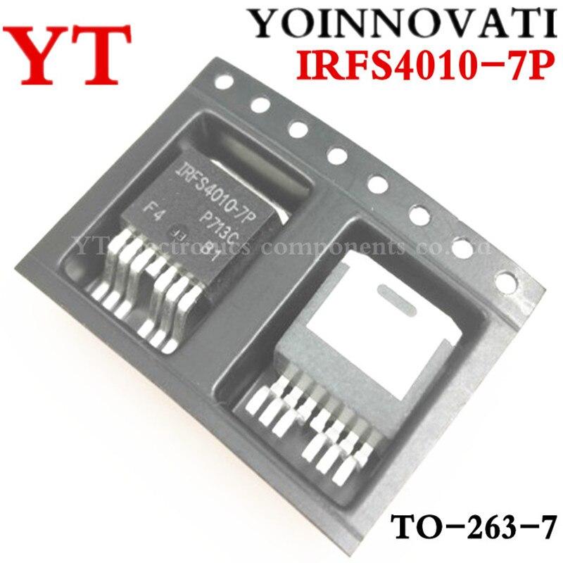 Free shipping 100pcs lot IRFS4010 7P FS4010 7P MOSFET N CH 100V 190A D2PAK 7 best