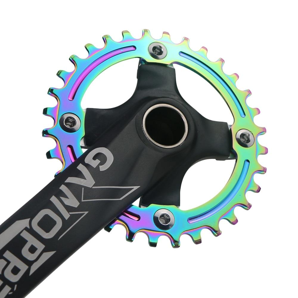 Narrow Wide Single Chainring Chain Ring bolts BCD 104mm 32 34 36 38T MTB AM Bike