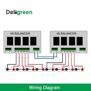 Image 5 - QNBBM 5S Active Balancer Equalizer BMS for LiFePO4, LTO, Li ion 18650 DIY battery Pack balancing