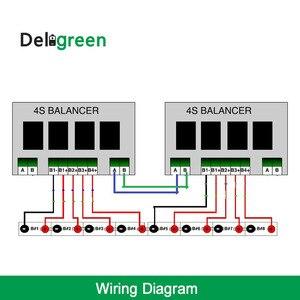 Image 5 - Qnbbm 5S balanceador ativo bms para lifepo4, lto, li ion 18650 diy bloco de bateria balanceamento