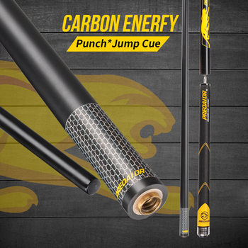 Carbon Fiber Punch&Jump Cue Stick PREOAIDR 3142 Billiard Break Punch Cue Jump Stick Carbon Maple Technology Shaft Break Pool Cue