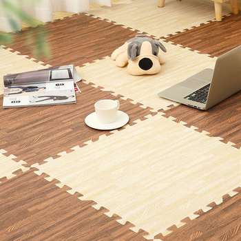 30*30*1cm Wood Grain  Puzzle Mat Foam Baby Play Mat Splicing Bedroom Soft Floor Kids Rug Living Room Gym Crawling Carpet EVA baby cushion crawling play mat playmat kids gift toy child carpet play soft floor gym rug baby room decoration accessories china
